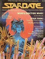 Stardate volume 2 issue 9 cover