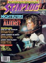 Starlog issue 117 cover