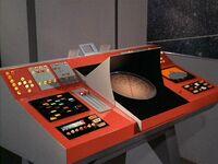 Transporter console 23rd century