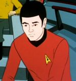 USS Enterprise operations helmsman, 2269
