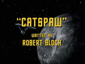 Catspaw title card