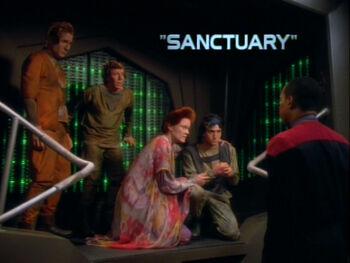 Sanctuary title card