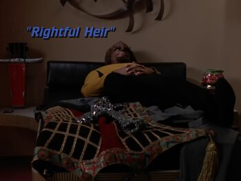 Rightful Heir title card