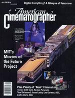 American Cinematographer cover April 1995