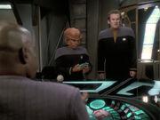 O'Brien ist erstaund über Siskos Schreibtisch