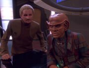 Odo and Quark in Ops