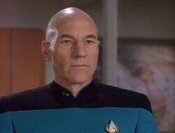 Picard in tapestry