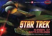 Polar Lights Model kit POL806 Klingon Battle Cruiser 2008