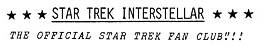 Star Trek Interstellar The Official Star Trek Fan Club logo