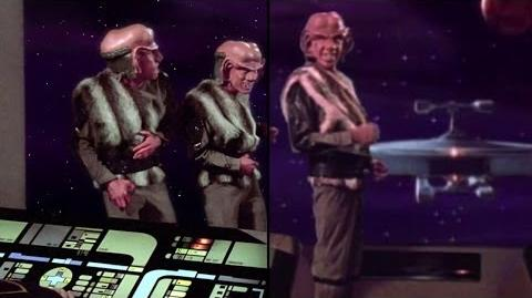 TNG Remastered 1x09 'The Battle' SD HD Stills Comparison