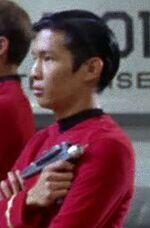 USS Enterprise operations security lieutenant 1