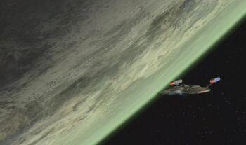 Valakis from orbit