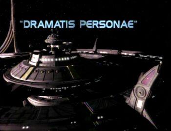Dramatis Personae title card