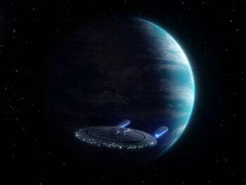 Bre'el IV from orbit