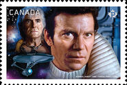 Canada Post 2017 Admiral Kirk stamp