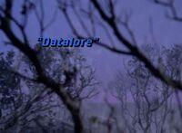 Datalore - scena tytułowa