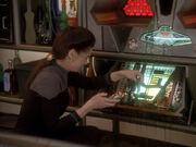 Dax reinigt den defekten Replikator