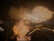 Klingon-Borg encounter