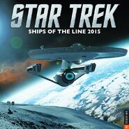 Ships of the Line 2015 sollicitation cover