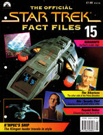 Star Trek Fact Files Part 15 cover