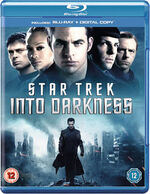 Star Trek Into Darkness Blu-ray Region B cover