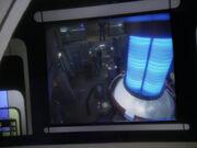 Rubicon beobachtet Maschinenraum