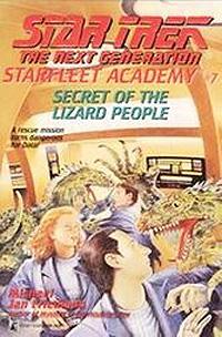 Secret of the lizard people novel