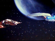 Spotkanie z okrętem Ferengi