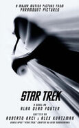 Star Trek (novel) mass-market paperback cover