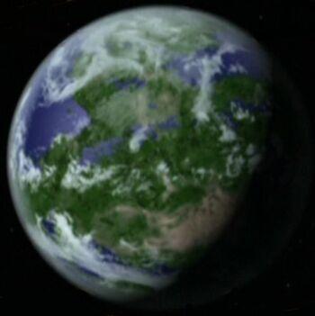Talax from orbit