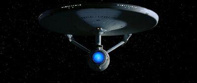 USS Enterprise (NCC-1701-A) auf dem Weg nach Khitomer