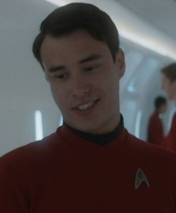 ... as <i>Enterprise</i> crewmember