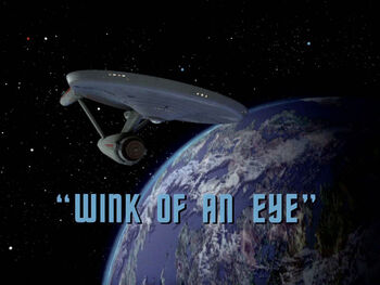 Wink of an Eye title card