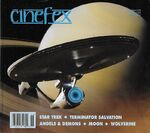 Cinefex cover 118 reprint