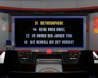 DVD-Menü TOS Staffel 2 Disc 3