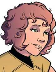 Female Chekov IDW