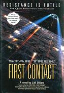 First Contact novel cover