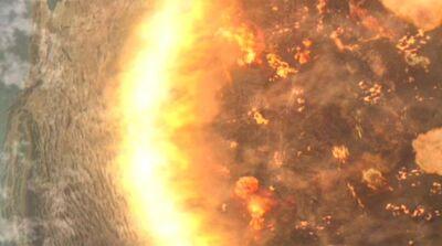 Paraagan II Vernichtung