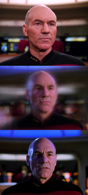 Picard alternate timeline transition 2366