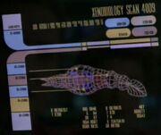 Space-dwelling lifeform scan