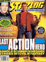Starlog issue 192 cover