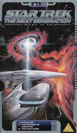 TNG 3.1 UK VHS cover