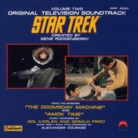 TOS Soundtrack Volume 2 cover