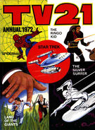 TV21 Annual 1972 Cover