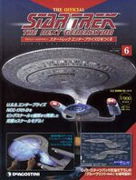 The Official Star Trek The Next Generation Build the Enterprise-D issue 6 box