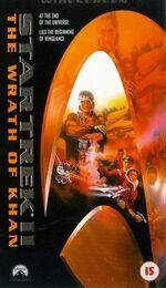 The Wrath of Khan 1998 UK VHS widescreen cover