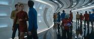 USS Enterprise (alternate reality) corridor