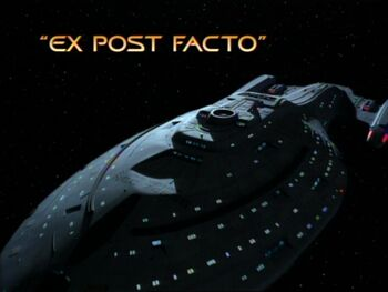 Ex Post Facto title card