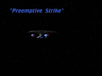 Preemptive Strike title card