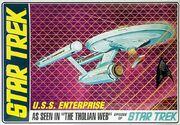 AMT Model kit AMT695 USS Enterprise 2011
